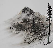 Sumi Mountain by JVandebrooke