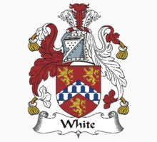 Coat of arms (family crest) for last-name or surname White . Heraldry banner for your name. by rita24