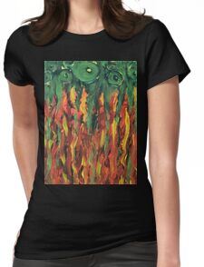 Noise overwhelming Music Womens Fitted T-Shirt