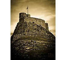The Castle at Lindisfarne Photographic Print