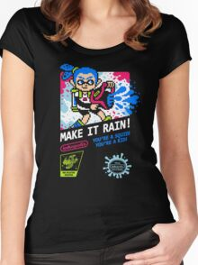 MAKE IT RAIN! Women's Fitted Scoop T-Shirt