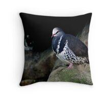Proud Wonga Pigeon  Throw Pillow