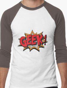 GEEK [UltraHD] Men's Baseball ¾ T-Shirt