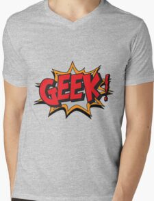 GEEK [UltraHD] Mens V-Neck T-Shirt