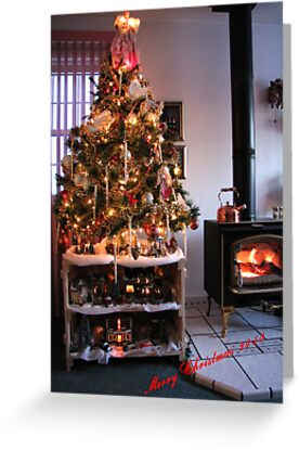 """Christmas at the Denny's  """"From our house to yours"""" by Tim Denny"""