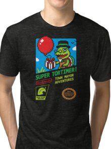 SUPER TORTIMER! Tri-blend T-Shirt