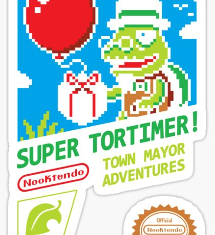 SUPER TORTIMER! Sticker