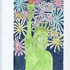 Lady Liberty New Year by DKards