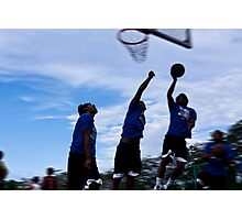 basketball motion Photographic Print