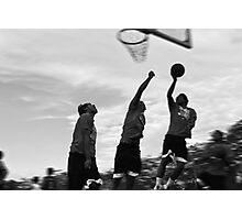 basketball motion 2 Photographic Print