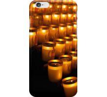 Notre Dame de Paris, Candles iPhone Case/Skin