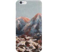 Sunrise in the Alps iPhone Case/Skin