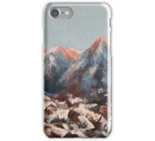 Sunrise in the Alps iPhone Case/Skin
