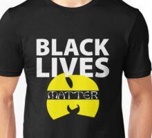 BLACK LIVES MATTER WU TANG SHIRT Unisex T-Shirt