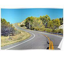 State Road 65 to Henefer, Utah Poster