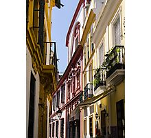 Streets of Seville  Photographic Print