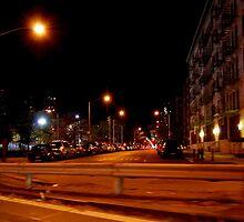 Streets of New York City by nadinecreates