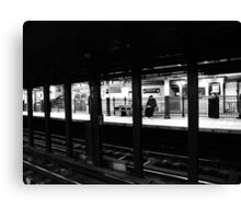 New York City Commuter Canvas Print