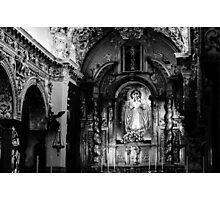 Call of God BW Photographic Print