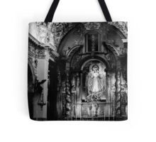 Call of God BW Tote Bag