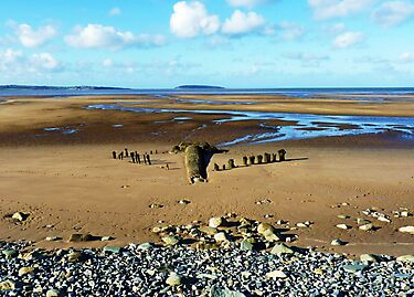 Golden Sands of Llanfairfechan by artfulvistas