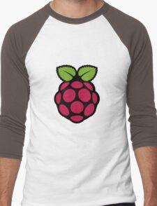 Raspberry Fan [HD] Men's Baseball ¾ T-Shirt