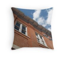 The Upstairs Rooms - San Marcos, TX Throw Pillow