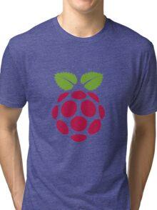 Raspberry Fan [HD] Tri-blend T-Shirt
