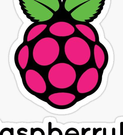 Raspberry Fan [HD] Sticker