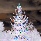 Inverted christmas tree by Carol Field