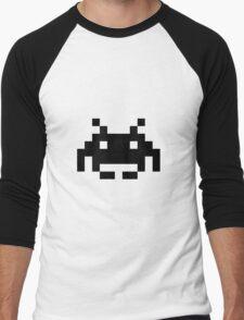 Space Invaders (JD] Men's Baseball ¾ T-Shirt