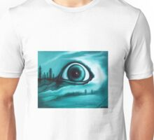 """Buried in the Woods"" Creepy Eye Art by VCalderon Unisex T-Shirt"
