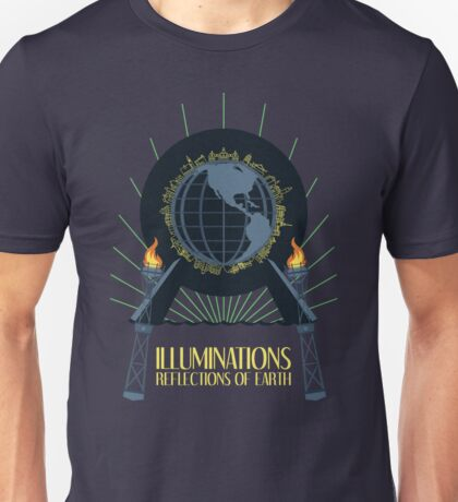 Illuminations - Reflections of Earth Unisex T-Shirt