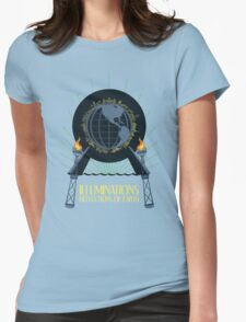 Illuminations - Reflections of Earth Womens Fitted T-Shirt