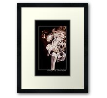 """""""Weight Of The World"""" Framed Print"""