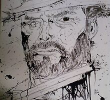 zombie clint eastwood by Dan Colella