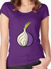 Tor Fan ! [UltraHD] Women's Fitted Scoop T-Shirt