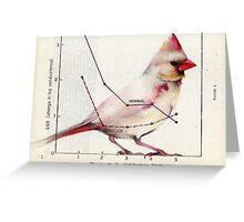 The Normal Cardinal Greeting Card