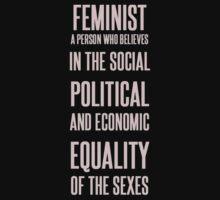 FEMINIST by illegalspacebun