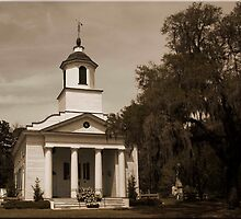 Presbyterian Chruch on Edisto Island by TONY ROSS