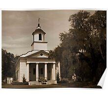 Presbyterian Chruch on Edisto Island Poster