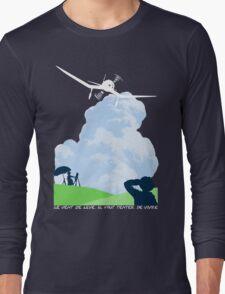 Wind rises Long Sleeve T-Shirt