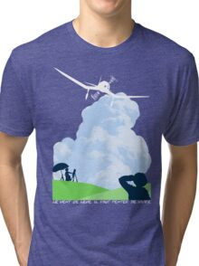 Wind rises Tri-blend T-Shirt