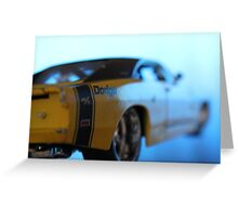 Paradise By the Dashboard Light Greeting Card