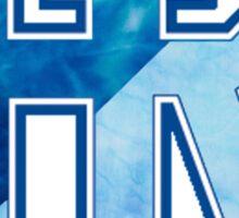 Rhode Island Tie Dye Logo Sticker