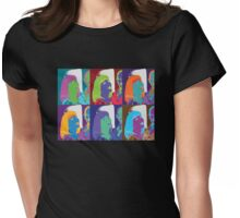 Warhol Girl Knockoff Womens Fitted T-Shirt