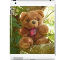 Red Tie Teddy Bear iPad Case/Skin