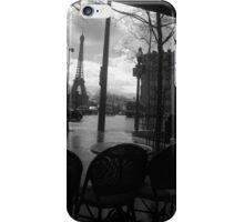 Cafe after the rain iPhone Case/Skin