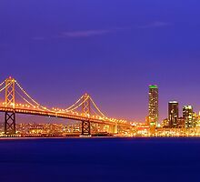 Bay Bridge San Francisco by Oliver Gunasekara