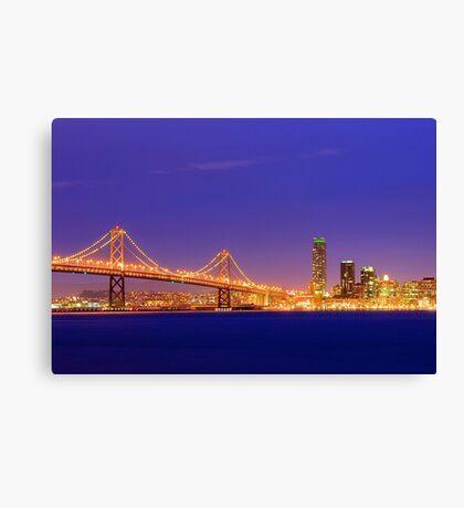 Bay Bridge San Francisco Canvas Print